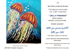 Lets Create - Jelly Friends Poster -  March 13 2019